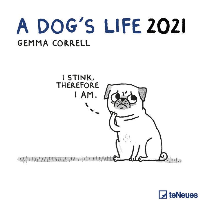 Calendario 2021 a dog´s life 30x30