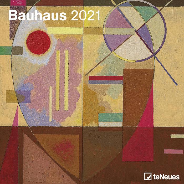 Calendario 2021 bauhaus 30x30