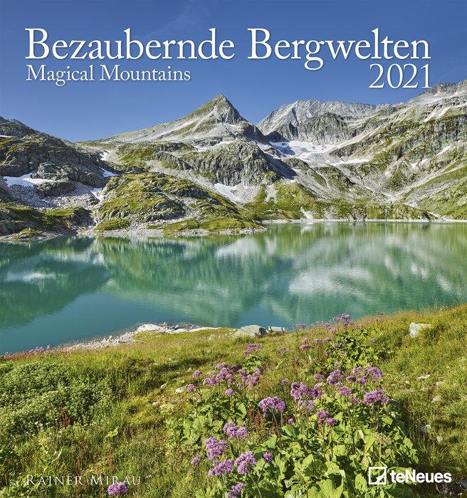 Calendario 2021 magical mountains 45x48