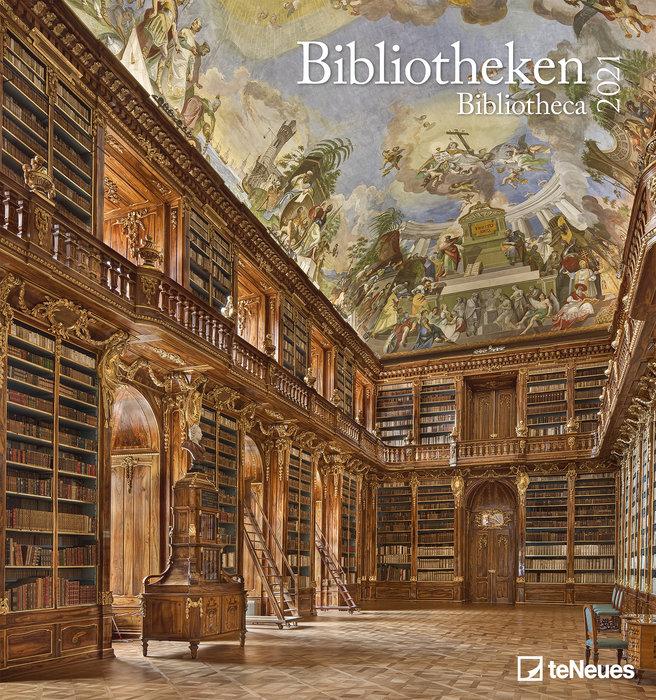 Calendario 2021 bibliotheca 45x48