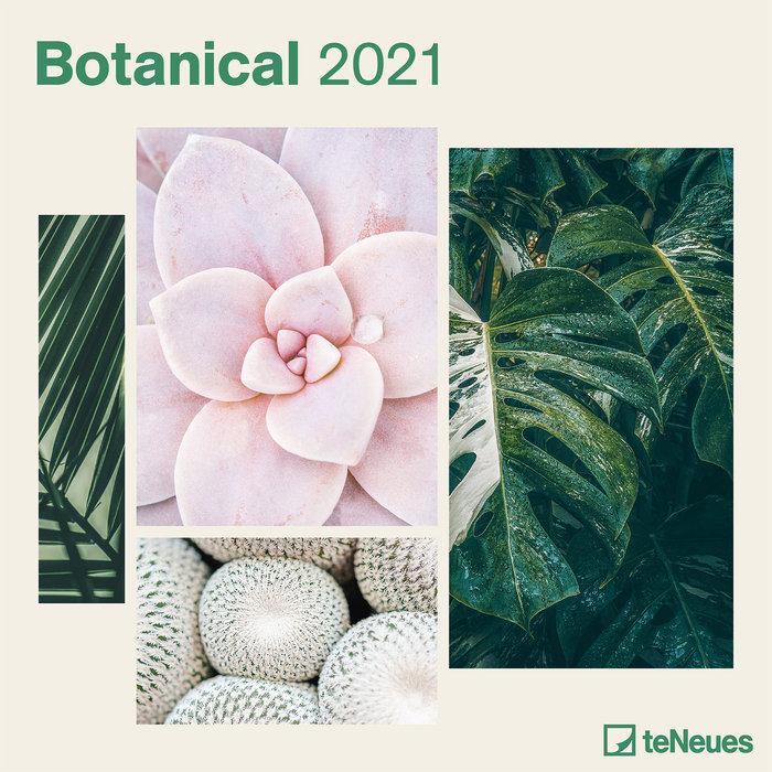 Calendario 2021 botanical 30x30