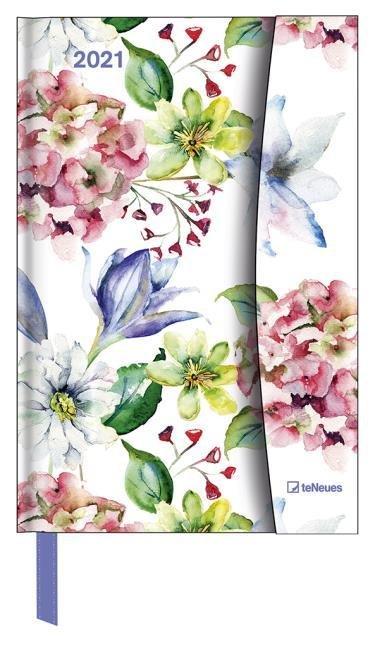 Agenda anual 2021 flower fantasy 10x15