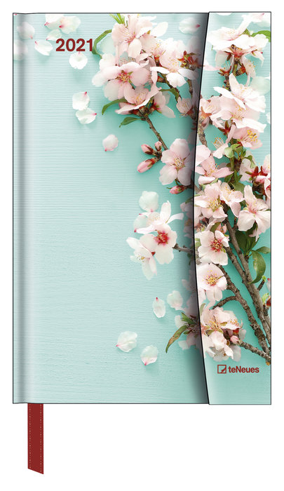 Agenda anual 2021 flowers 10x15