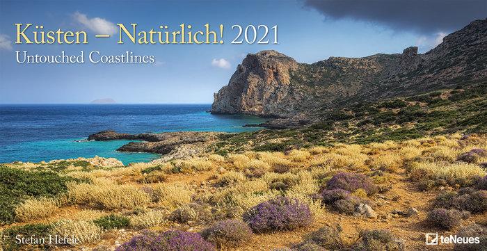 Calendario 2021 untouched coastlines 33x64 / 64x33