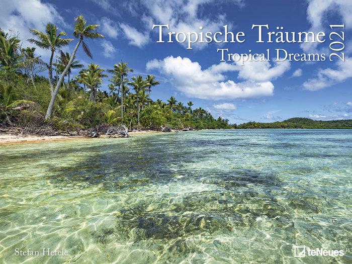 Calendario 2021 tropical dreams 48x64 / 64x48