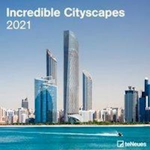 Calendario 2021 incredible cityscapes 30x30