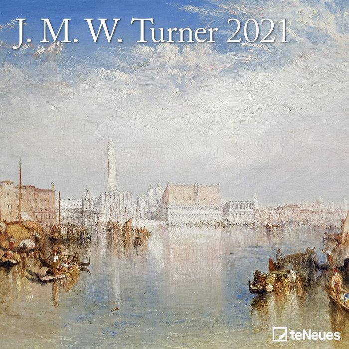 Calendario 2021 j.m.w. turner 30x30
