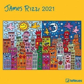 CALENDARIO 2021 JAMES RIZZIá 30X30