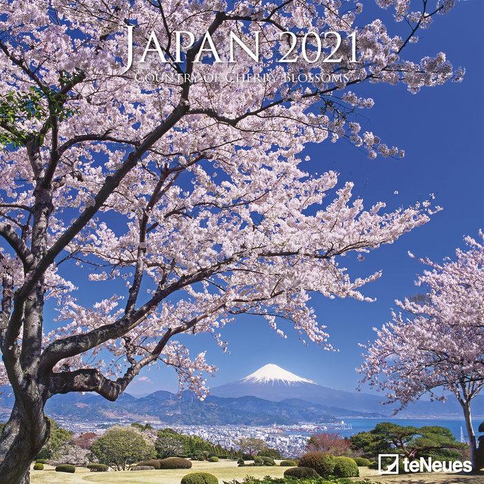 Calendario 2021 japan 30x30