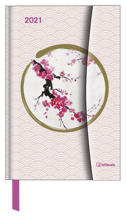 Agenda anual 2021 japanese papers 10x15