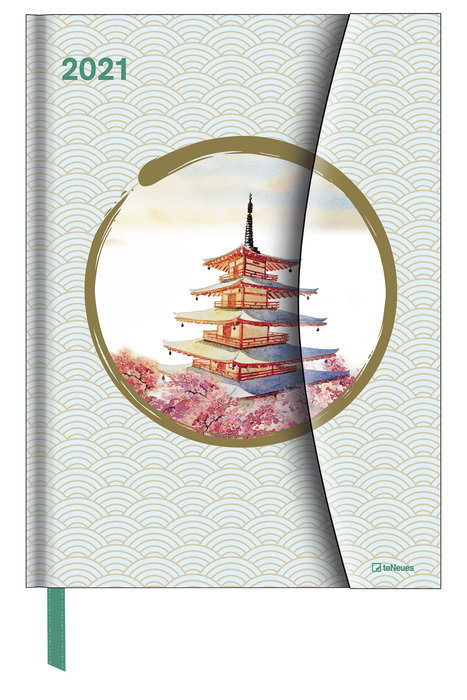 Agenda anual 2021 japanese papers 16x22