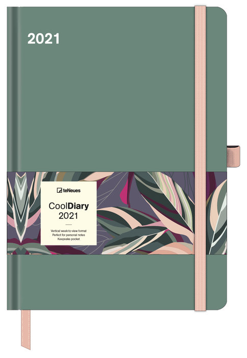 Agenda anual 2021 sage green  new 16x22