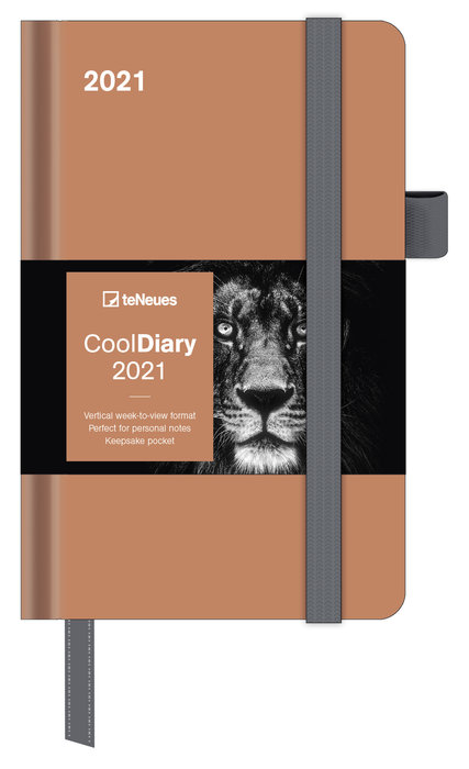 Agenda anual 2021 caramel  new 9x14