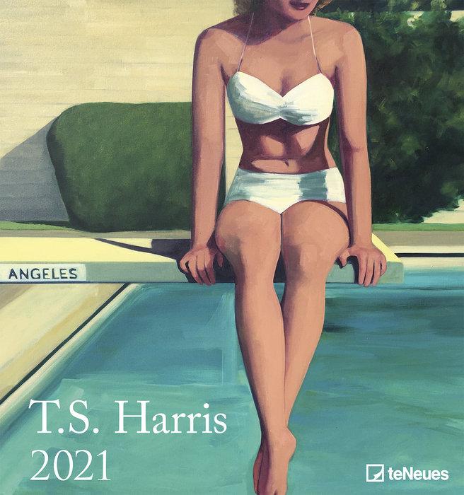 Calendario 2021 t.s. harris new 45x48