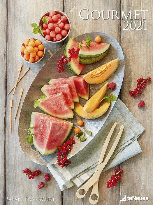 Calendario 2021 gourmet 48x64 / 64x48