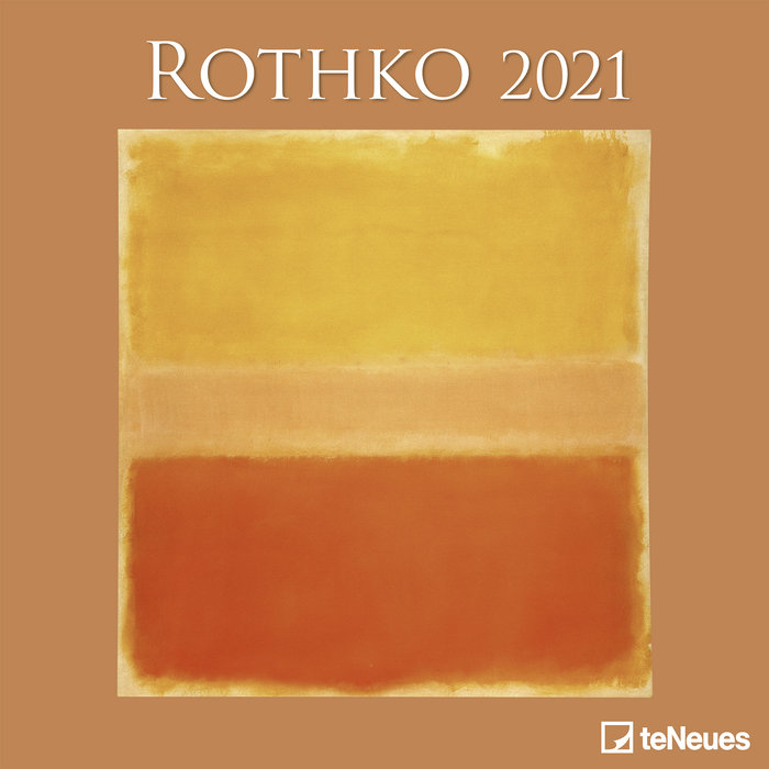 Calendario 2021 rothko 30x30