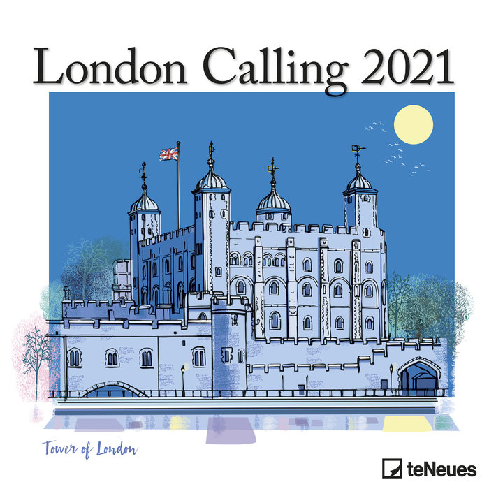 Calendario 2021 london calling 30x30