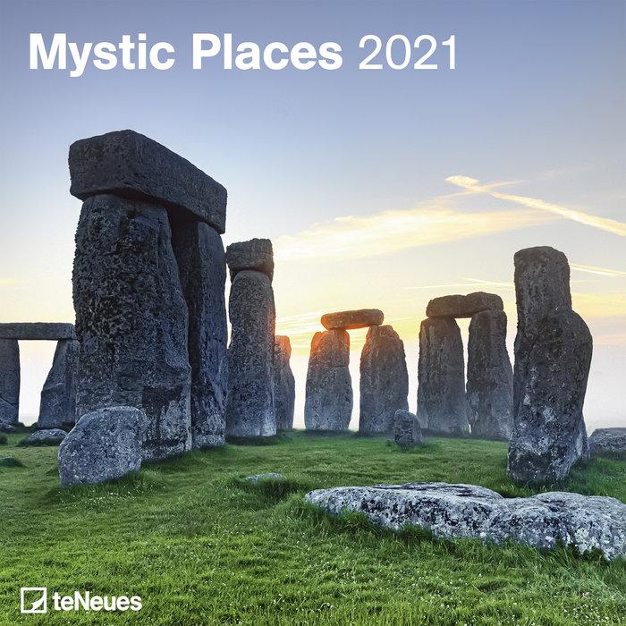 Calendario 2021 mystic places new 30x30