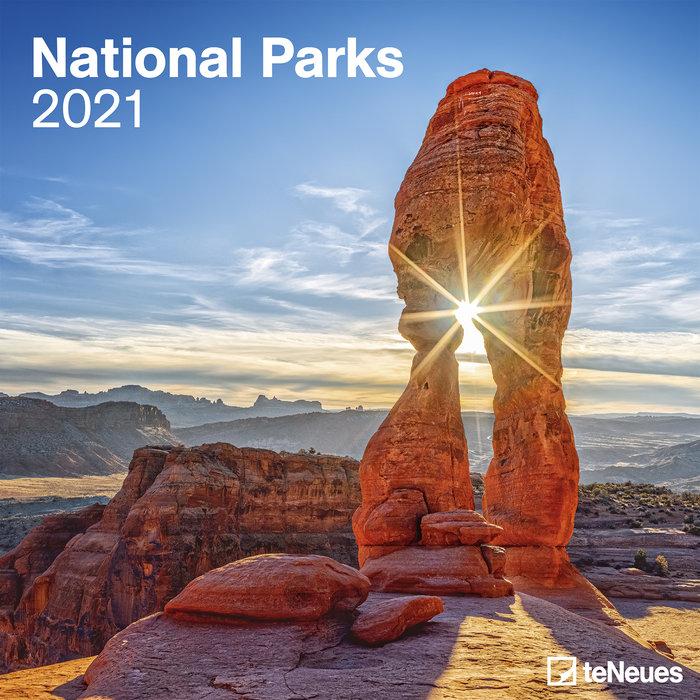 Calendario 2021 national parks new 30x30