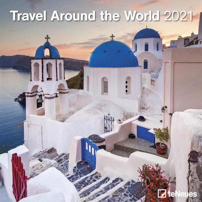Calendario 2021 travel around the world 30x30