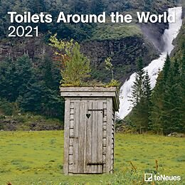 Calendario 2021 toilets around the world 30x30