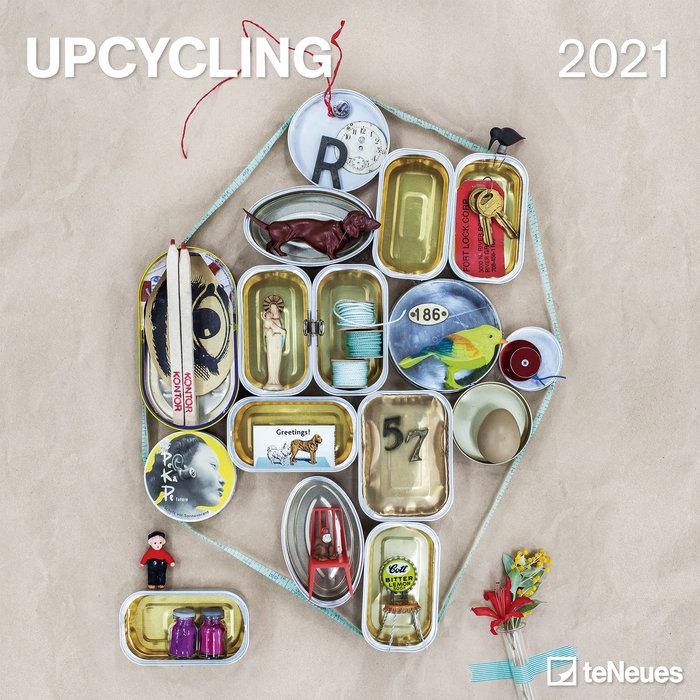 Calendario 2021 upcycling new 30x30