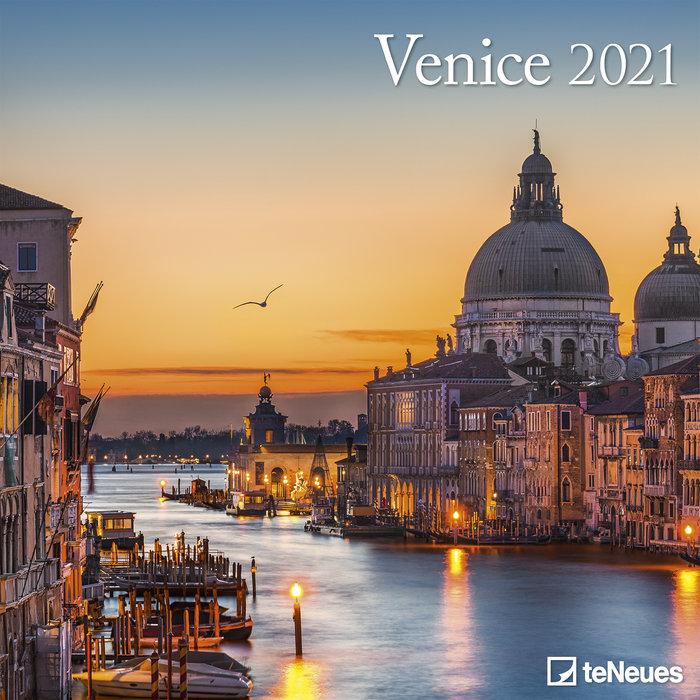Calendario 2021 venice 30x30
