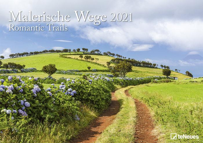 Calendario 2021 romantic trails 29.7x42 / 42x29.7
