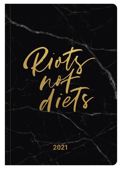 Agenda anual 2021 glamline riots not diets  new 14.8x21