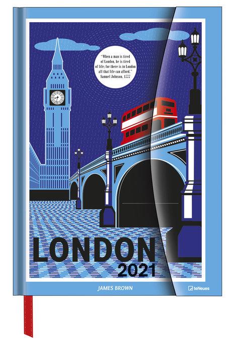 Agenda anual 2021 james brown in london  new 16x22