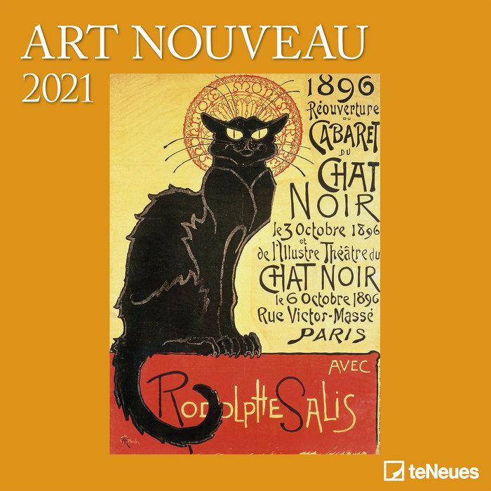 Calendario 2021 art nouveau new 30x30