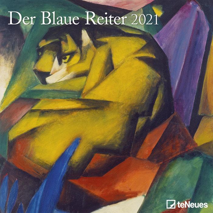 Calendario 2021 der blaue reiter new 30x30