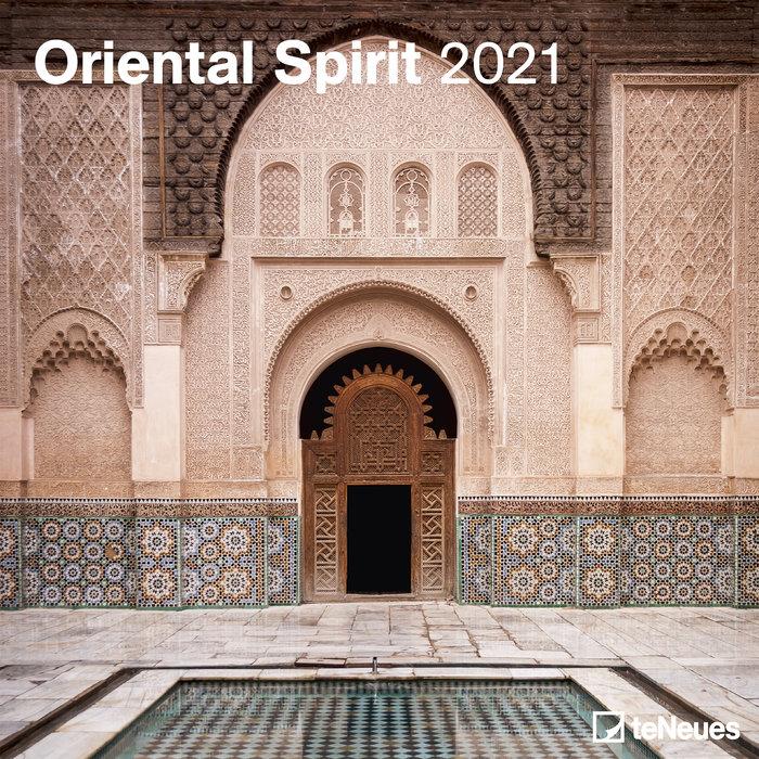 Calendario 2021 oriental spirit new 30x30