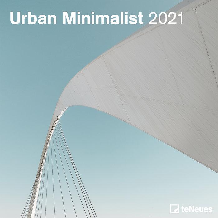 Calendario 2021 urban minimalist new 30x30