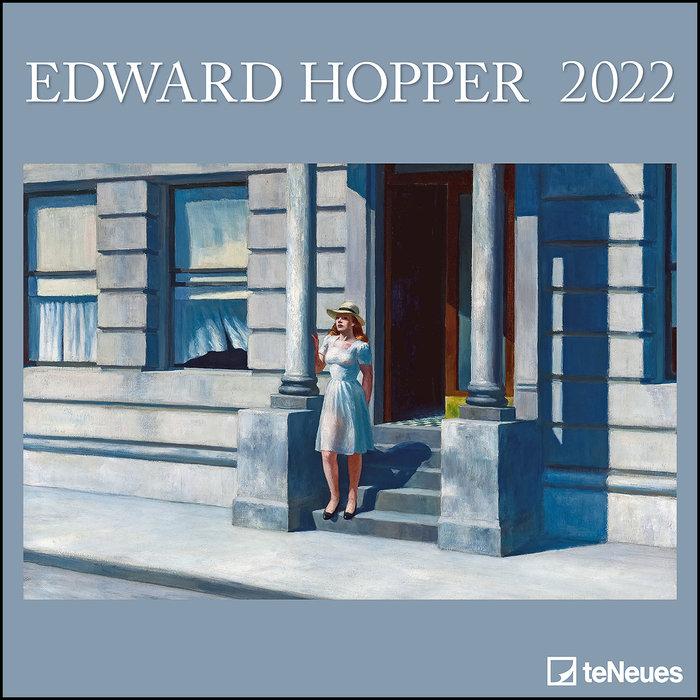 Calendario 2022 edward hopper 30x30 teneues