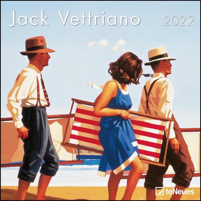 Calendario 2022 jack vettriano 30x30 teneues