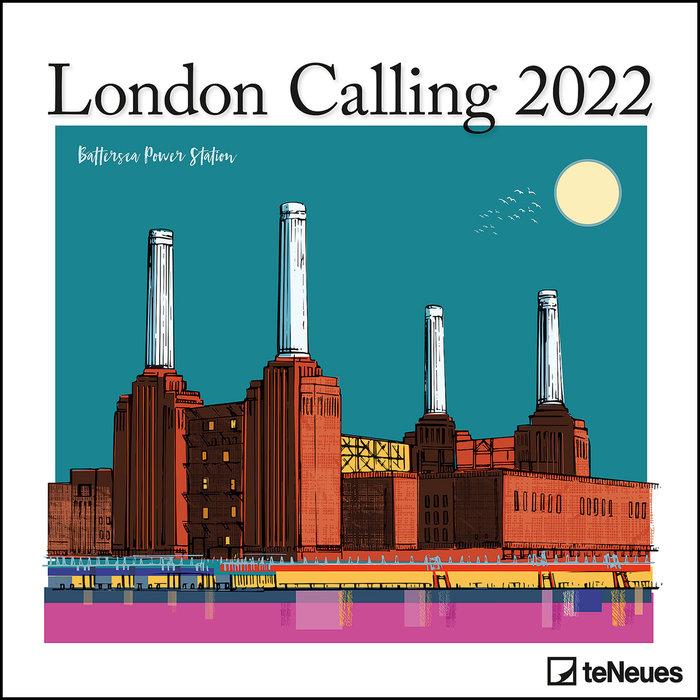 Calendario 2022 london calling 30x30 teneues