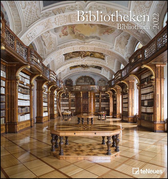Calendario 2022 bibliotheca art & photo 45x48