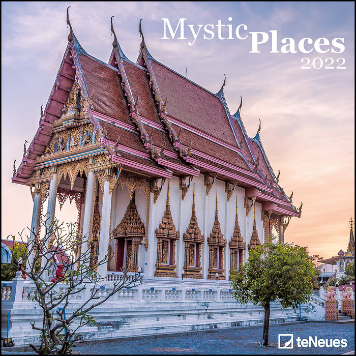 Calendario 2022 mystic places 30x30 teneues