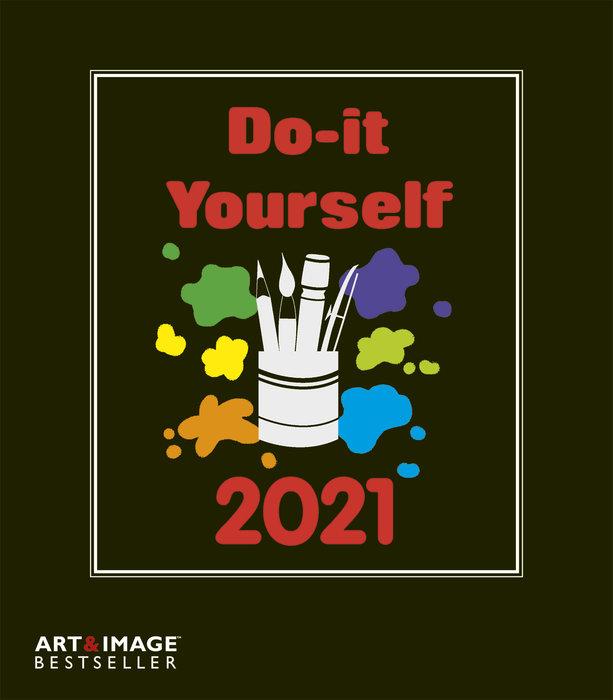 Calendario 2021 do-it-yourself black 24 x 31 / 21 x 24