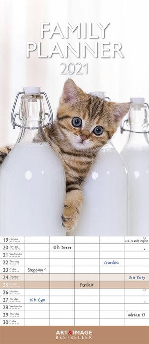 Planificador 2021 kittens 19,5x45