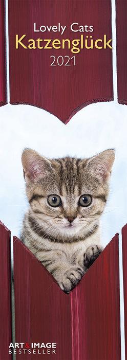 Calendario 2021 lovely cats 14,85x42