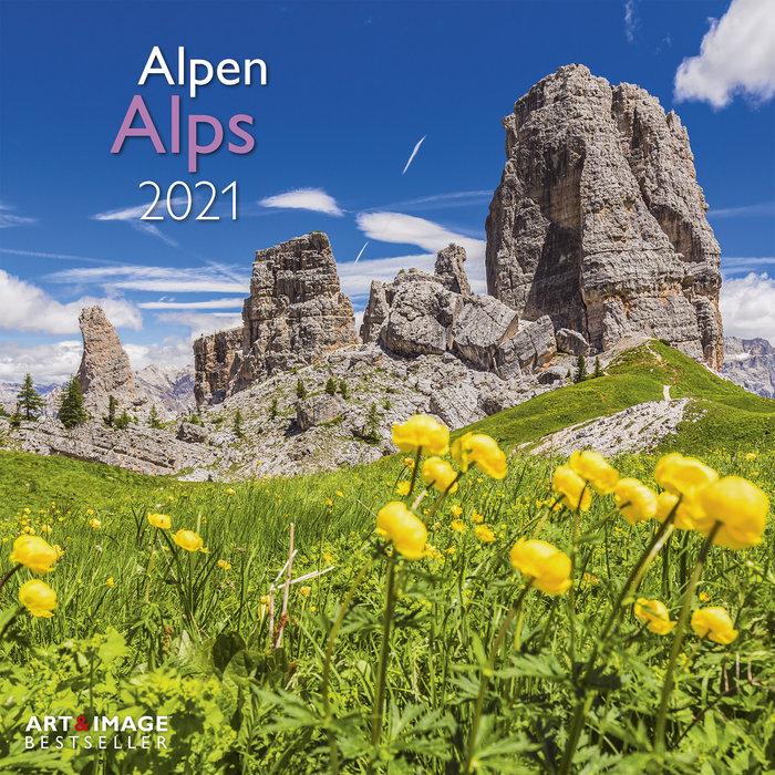 Calendario 2021 alps 30x30