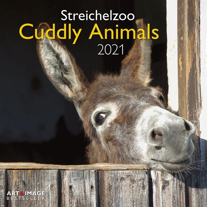 Calendario 2021 cuddly animals 30x30