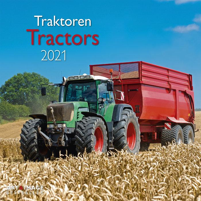 Calendario 2021 tractors 30x30