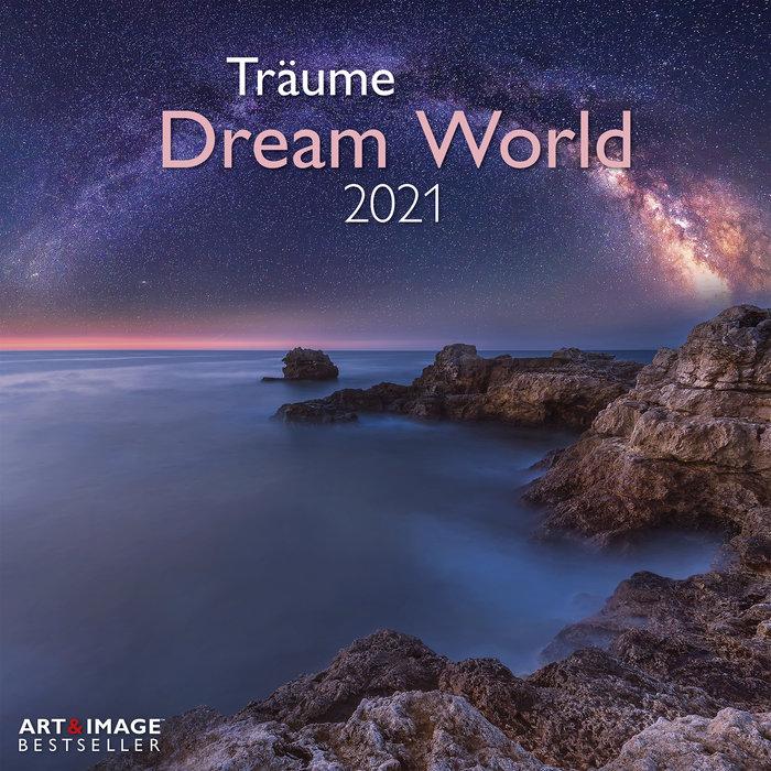 Calendario 2021 dream world 30x30