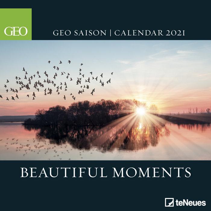 Calendario 2021 geo saison: beautiful moments new 30x30