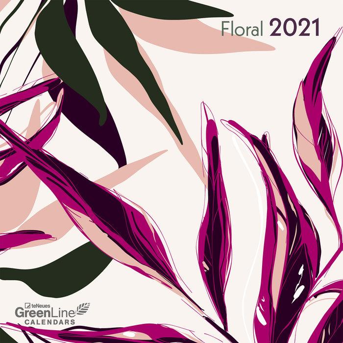 Calendario 2021 floral 30x30