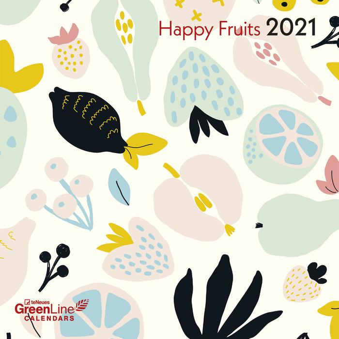 Calendario 2021 happy fruits new 30x30