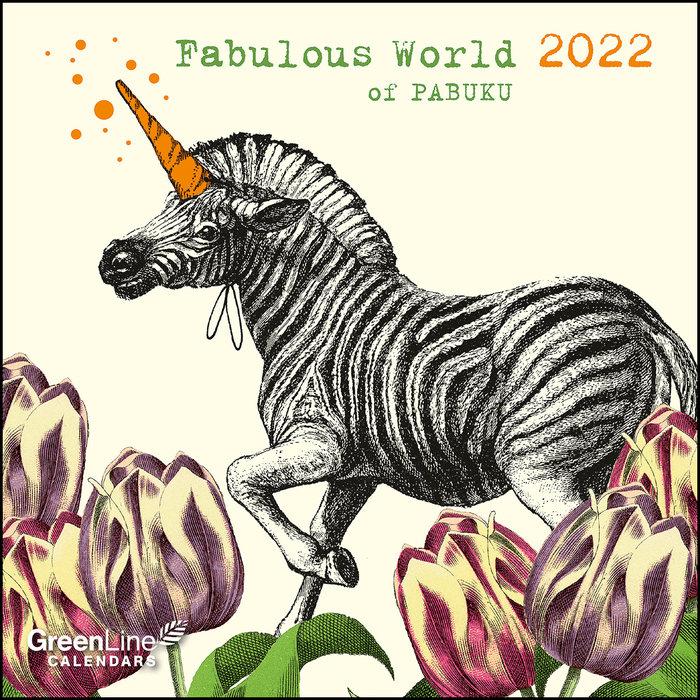 Calendario 2022 fabulous world of pabuku mini 17,5x17,5
